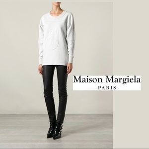 MM6 Maison Margiela Textured Sweatshirt